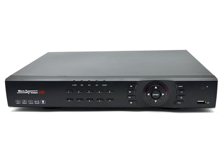 MV-H8616GT  Гибридный 16*1080P регистратор со SMART-функциями